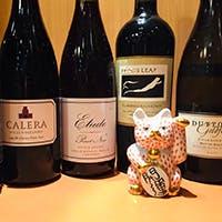 ソムリエ厳選のワインと日本酒もございます
