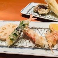 厳選の食材、最高品質の油、熟練の技術が生み出す本格天ぷら