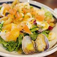 産地直送の鮮魚と生牡蠣&野菜