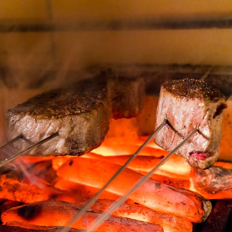 GINZA KOKO炉のコース料理(ショートコース)