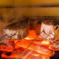 大人空間で炉釜ステーキをご堪能