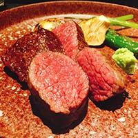 「発酵熟成肉」の薪焼きステーキ