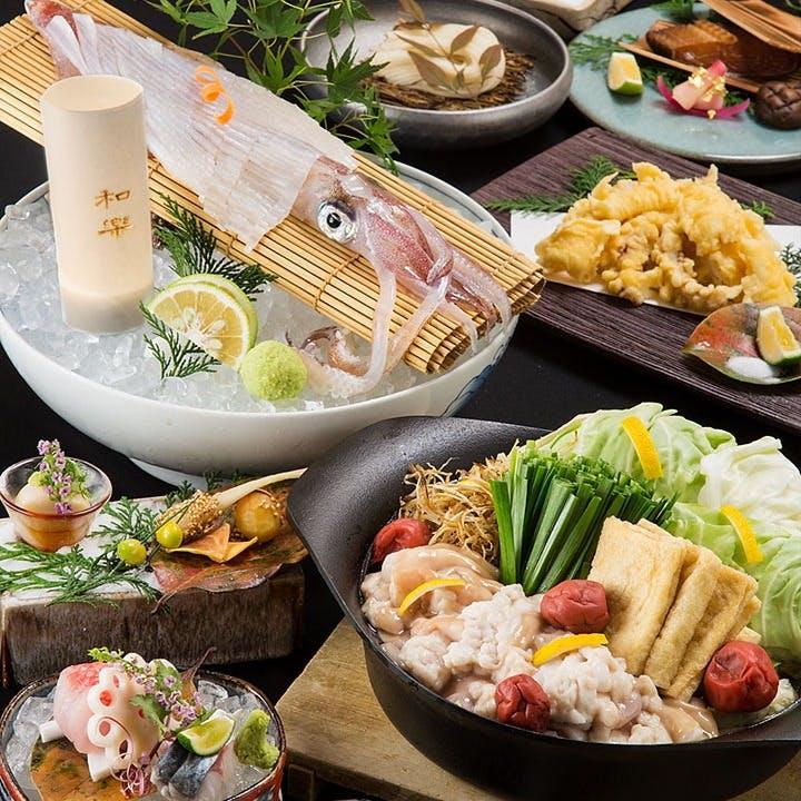 鍋も鮮魚もたっぷり味わう「喜水亭 和樂 大名店」
