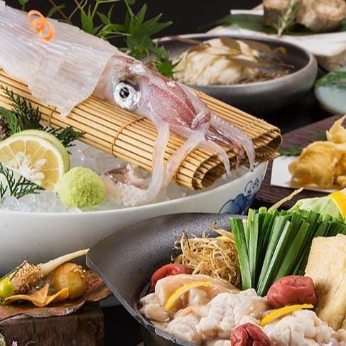 九州ならではのこだわりの食材をお愉しみください