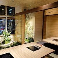 大切な接待や会食に相応しい、料亭の離れのような個室
