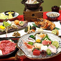 厳選食材を使用した季節の料理