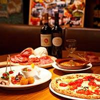 こだわりの食材を使用した本格ピッツァ&ステーキが楽しめます