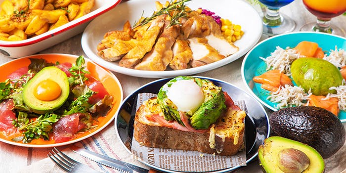 新宿 東口 西口 カフェ おしゃれ ランチ hole hole cafe&diner 新宿東口店 ホレホレカフェアンドダイナー メニュー
