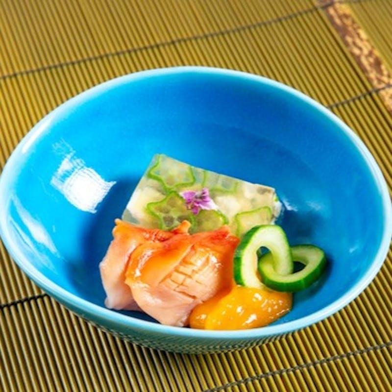 【おまかせBコース】九州の食材をふんだんに使用した全8品