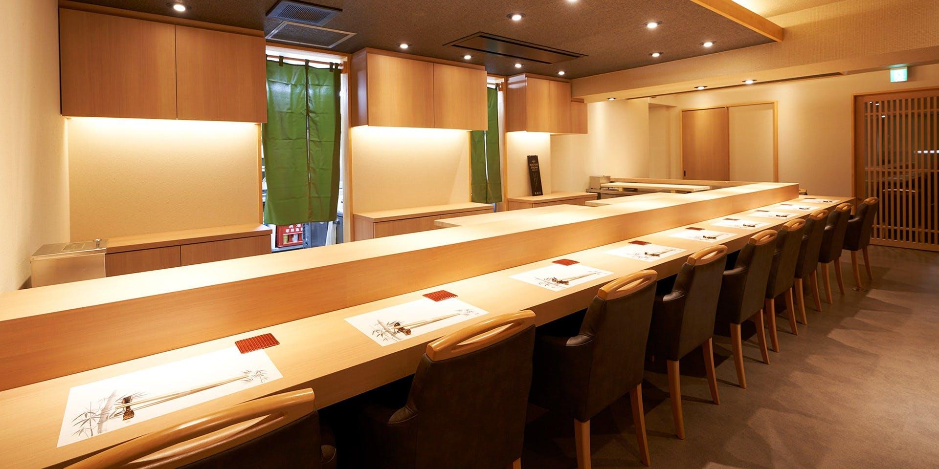 記念日におすすめのレストラン・吉祥寺 鮨 栞庵 やましろの写真1