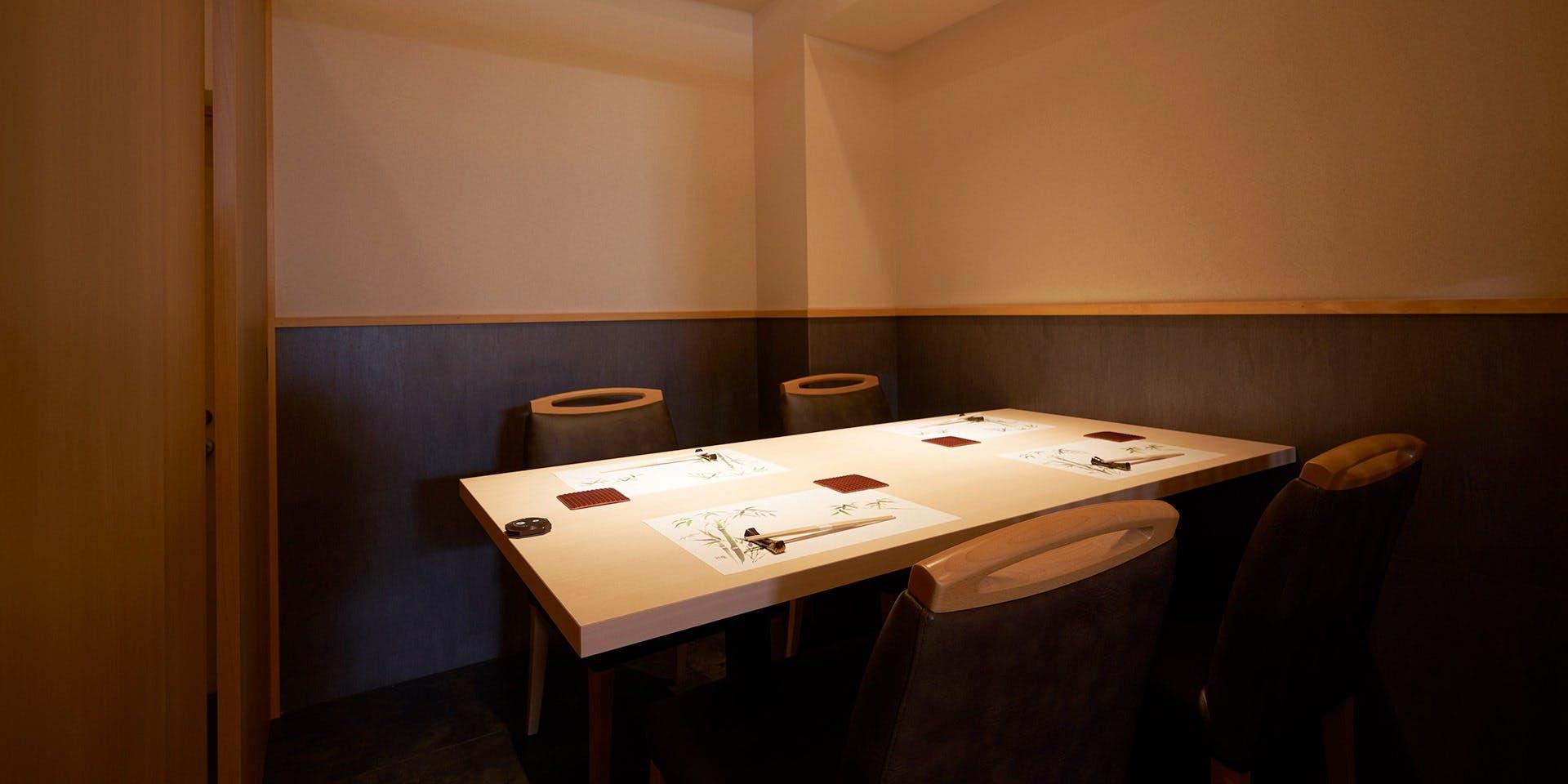 記念日におすすめのレストラン・吉祥寺 鮨 栞庵 やましろの写真2