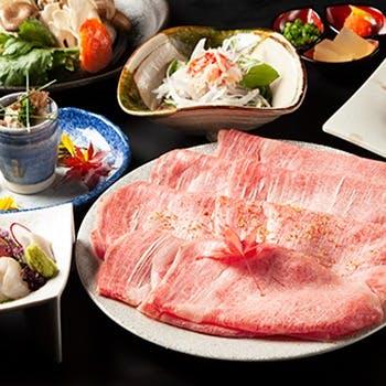 旬の食材を存分に味わえる会席コース5800円よりご用意