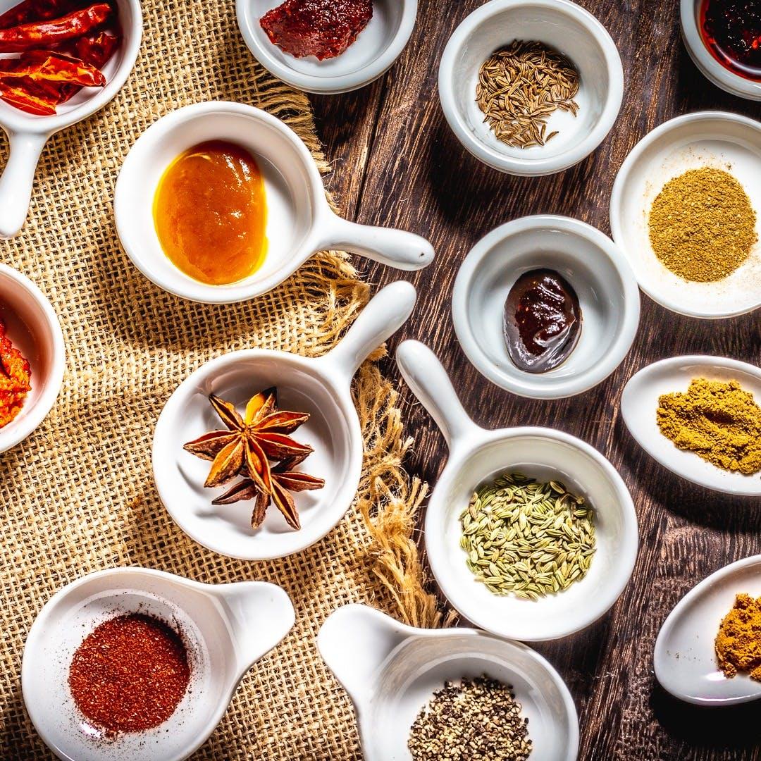 中華スパイスのイタリア料理