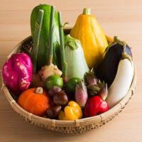 野菜好きの料理人が選ぶ「地元の新鮮野菜」