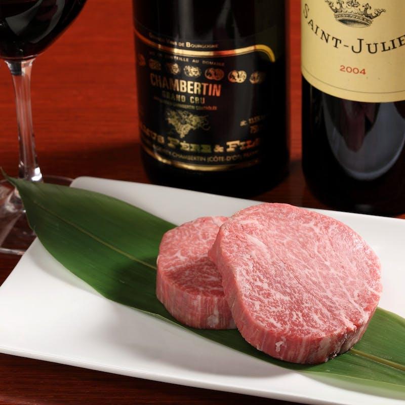 【特別コース】伊勢海老、シャトーブリアン全11品+シャンパン含む2ドリンク(80g・アワード受賞記念)