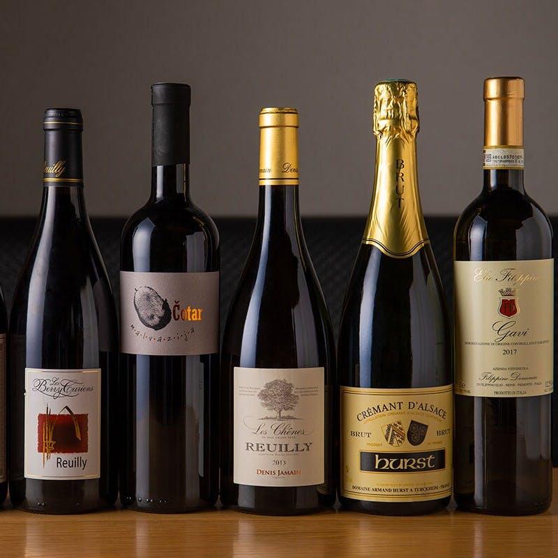自社輸入の自然派ワイン