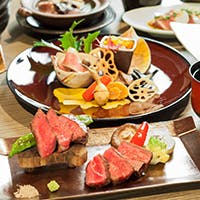 美味しいお肉と旬のお野菜を楽しむ肉割烹