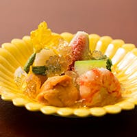 一品一品真心込めた日本料理