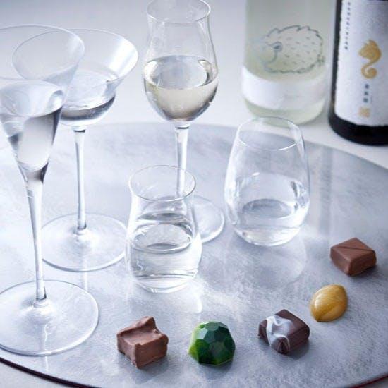 Tea&Barオリジナルチョコレートと日本酒のペアリングセット