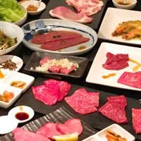 お肉ソムリエが選ぶお肉 美味厳選された上質な和牛の炭火焼肉