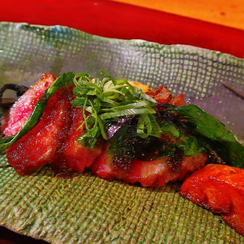 【石焼きコース】伊万里牛石焼きの甘味を味わう全7品(リクエスト予約)