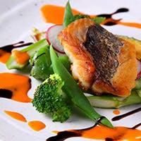 京野菜と産地直送の魚介をふんだんに使用