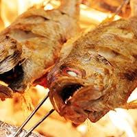 【名物】最高級のど黒を炭火焼・煮付、お好みの調理法でご提供