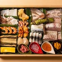 厳選食材を使用した季節の旬を彩る料理を堪能