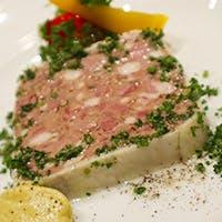 お肉メインの家庭フランス料理