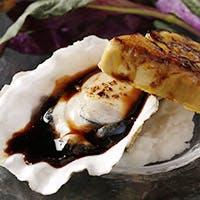 自慢の牡蠣を使った料理が豊富