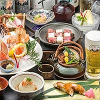 九州赤鶏の【ふもと赤鶏】と季節鮮魚・各種厳選した銘酒を愉しむ