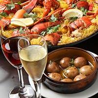 お酒にあう本格スペイン料理