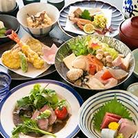 彩りも豊かな季節折々の和食をご堪能