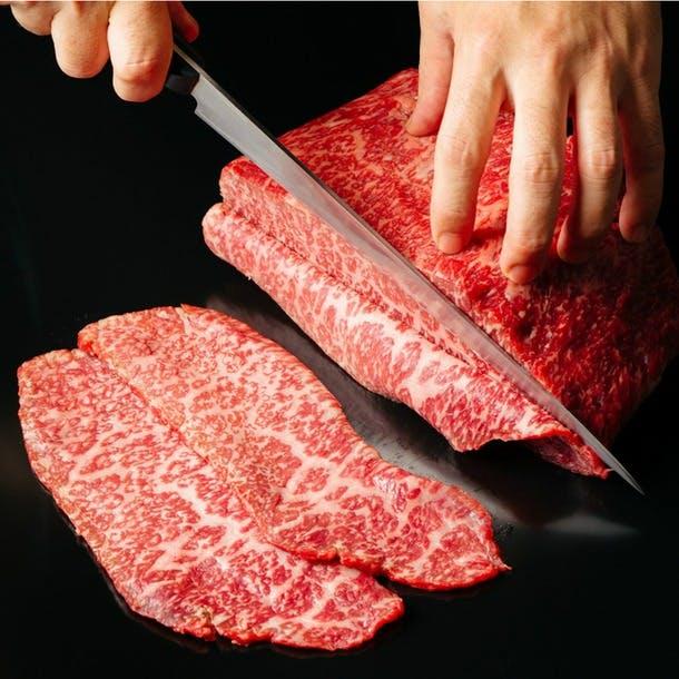 一頭買いだからこそできる、希少部位含む上質なお肉を産直価格でご提供