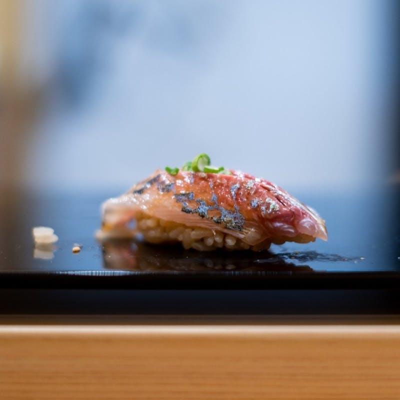 【おまかせ鮨コース~桔梗~】季節のお料理、旬のネタ、汁物
