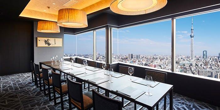 記念日におすすめのレストラン・スカイツリー(R)ビューレストラン 簾 フレンチの写真1