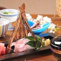 新鮮な季節の色とりどりな食材をご堪能