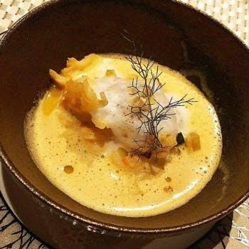 【Menu Saison】キャビア、鮑、フォアグラ、伊勢海老、黒毛和牛等の贅沢食材~全8品~