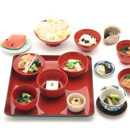 鎌倉ならではの本格精進料理