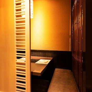 ディナーの個室予約