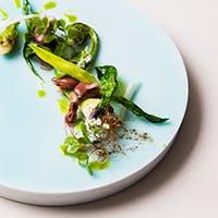 旬のシーフードと地元野菜のヨーロピアンキュイジーヌ
