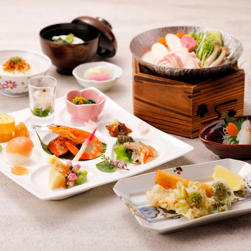 【春のリッチランチ】旬のおいしいがたっぷりのランチコース全6品