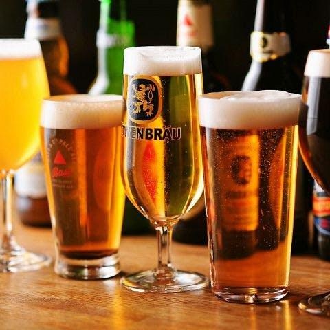 世界各国のクラフトビールが集結!