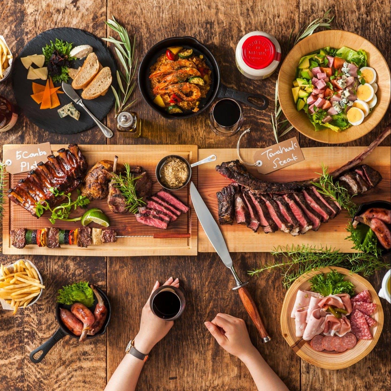 アメリカを中心とした世界各国のBBQ料理