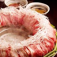 特許取得の鍋『博多炊き肉鍋』をご賞味ください