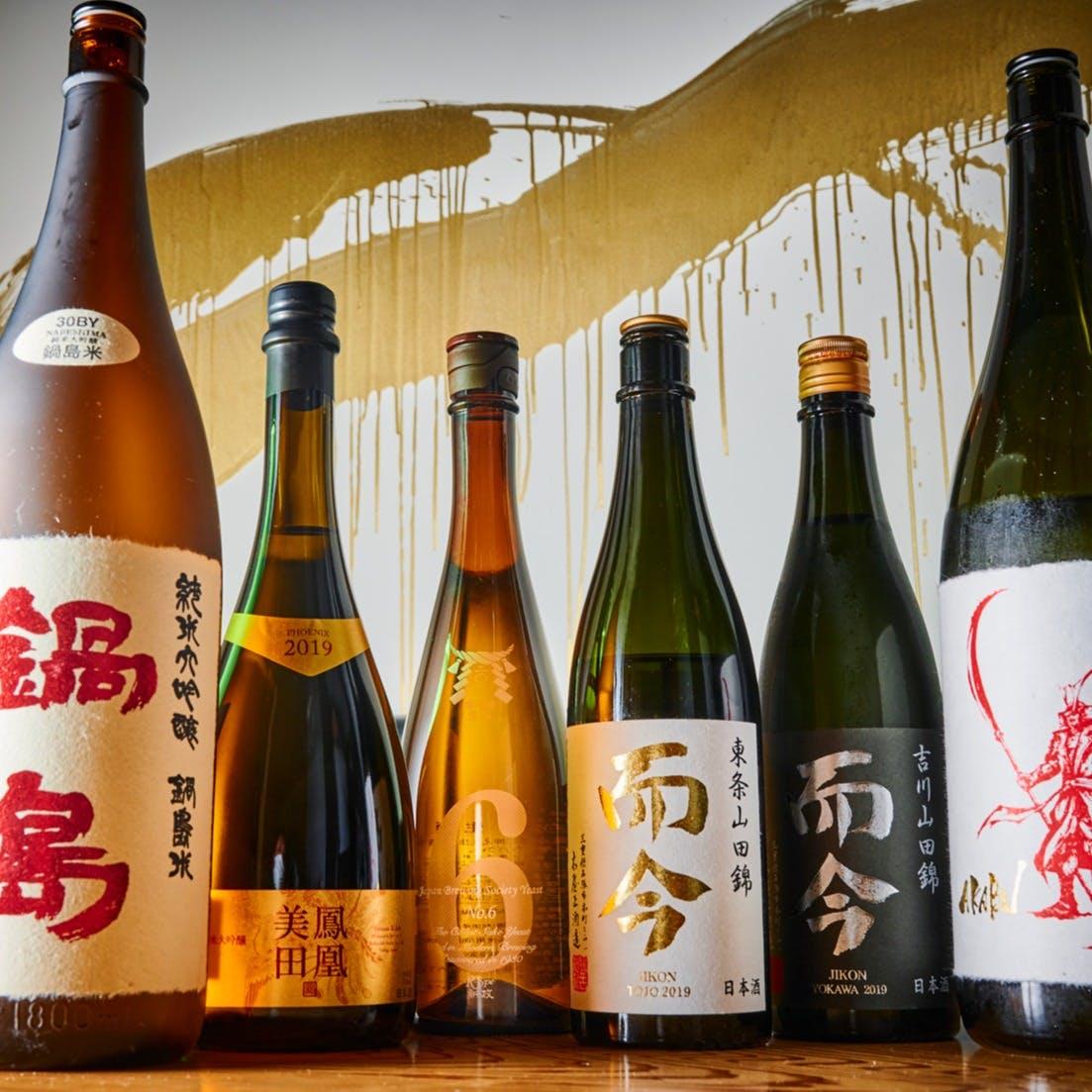 シニアソムリエの選ぶワインや日本酒と料理のマリアージュ