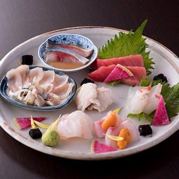 厳選された鮮魚