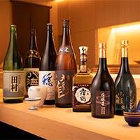 料理にぴったりの日本酒各種ご用意