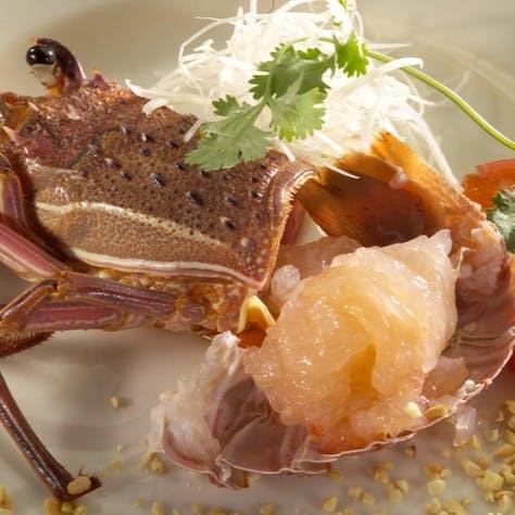 高級な海の幸を楽しむ中華、鉄板焼きもご用意