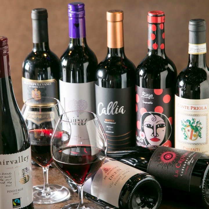 種類豊富なワイン